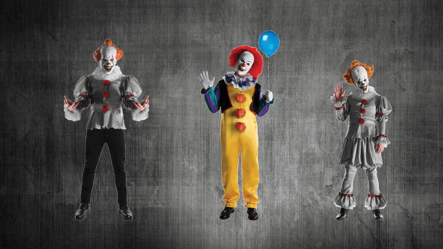 Pennywise the Clown Halloween costume