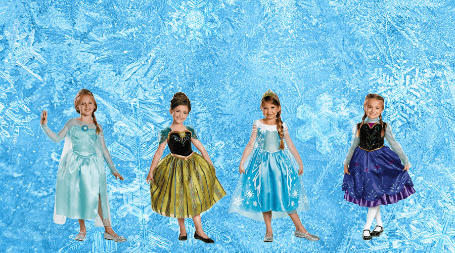 Frozen Outfits for girls