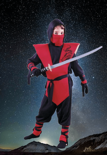 Red Ninja Outfit