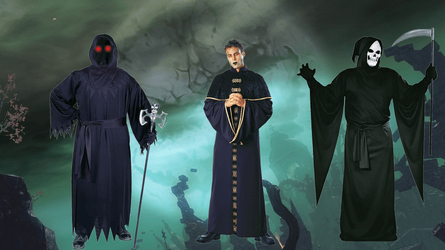 Scary Grim Reaper Costumes