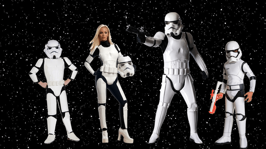 Star Wars Costume For Kids and Adults
