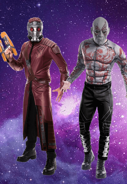 Star lord Costume & Drax the Destroyer Costume