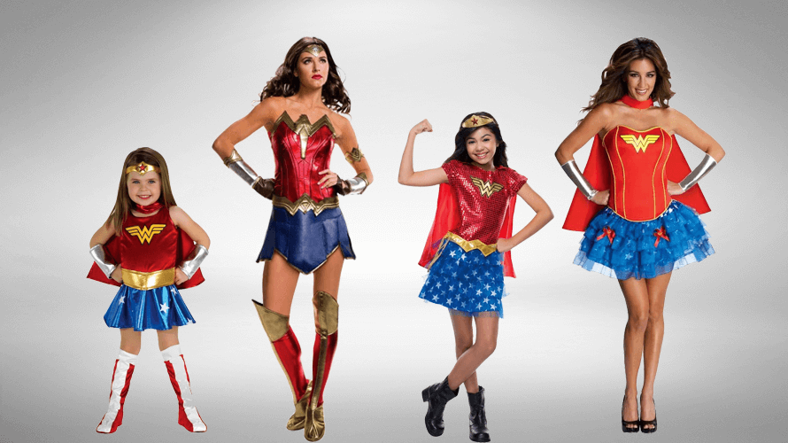 Wonder Woman Costumes Ideas  sc 1 st  Skeleton Costumes : wonder woman costumes for adults  - Germanpascual.Com