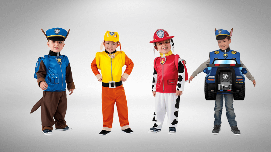 Looking for Paw Patrol Costumes?