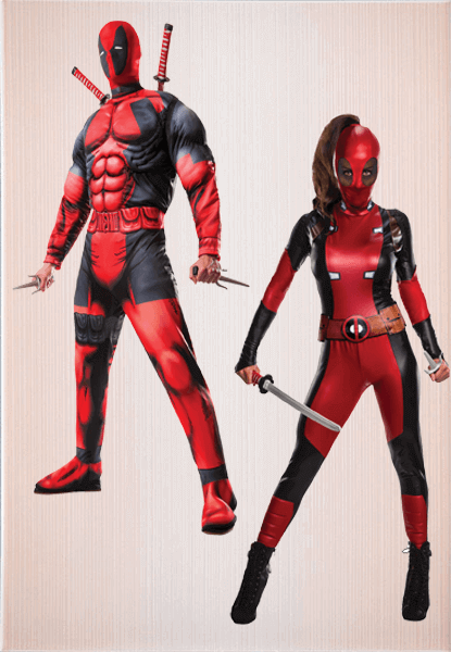 Deadpool Women Costume & Deadpool Outfit
