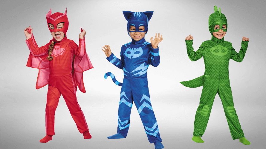 PJ Masks Halloween Costumes