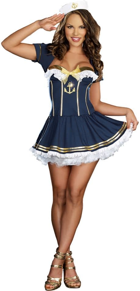 sexy pin up girl costumes № 308685