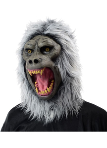Baboon Latex Mask For Adults