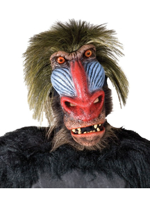 Baboon Mask For Adults