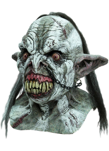 Battle Orc Adult Latex Mask For Adults
