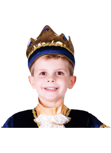 Blue Crown For Children
