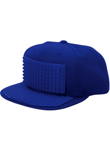 Bricky Block Blue Hat For All