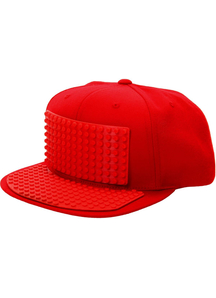 Bricky Block Red Hat For All