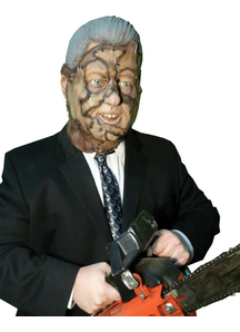 Bubba Clinton Mask Latex For Adults