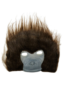 Chimp Plush Mask For Adults
