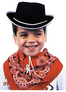 Cowboy Hat For Children Black