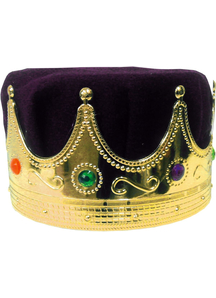 Crown Kings With Purple Turban For All