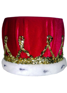 Crown Sequin With Red Turban For All
