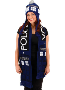 Doctor Who Tardis Laplandr Hat For All