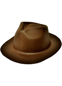 Gangster Hat Brown Foam For All