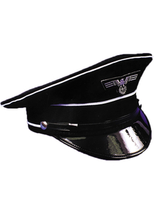German Officer Hat Medium For Adults