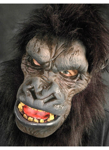 Go-Rilla Latex Mask For Adults