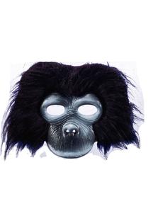 Gorilla Plush Mask For Adults