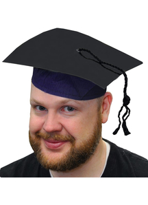 Graduate Cap 9 1/4 In Motorboa For Adults