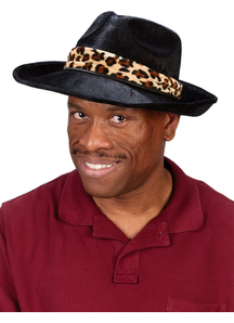 Hat Pimp Black For Adults