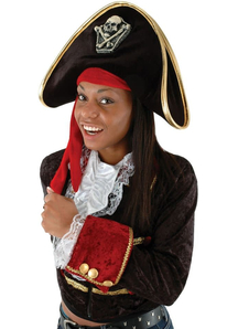 Hat Pirate For Adults