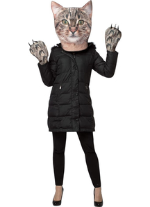 Kitty Kit Photo Print Mask For Adults