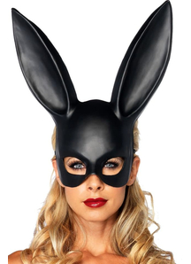 Mask Rabbit Black For Adults