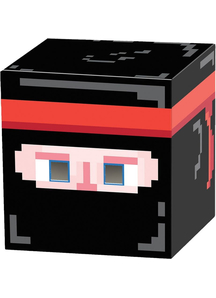 Ninja 8-Bit Box Head For All
