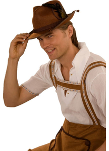 Octoberfest Hat Brown For All