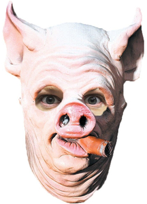 Pig Out Mask For Adults