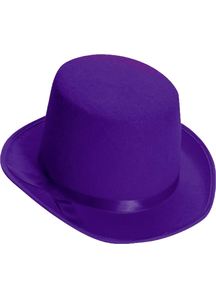 Top Hat For Adults Purple