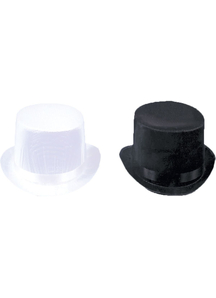 Top Hat Trans Silk Black Md For All