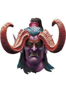Ww Illidan Latex Mask For Adults