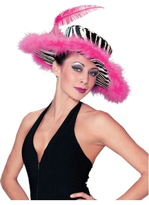Zebra Pink Hat For All