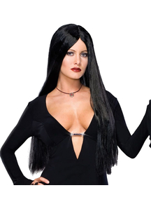 Adams Family. Morticia Deluxe Wig