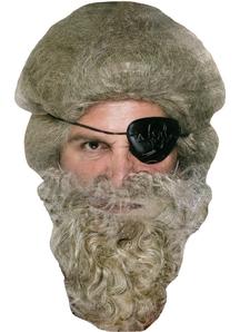 Beard Pirate Grey - 19784