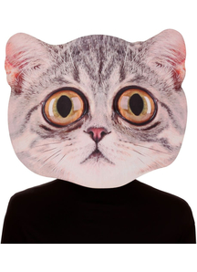 Big Eyed Cat Mask