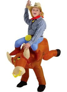 Bull Rider Inflatable Costume - 20561