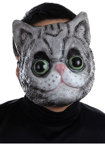 Cat Plastic Face Mask