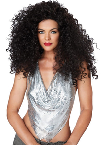 Disco Diva Brunette Wig