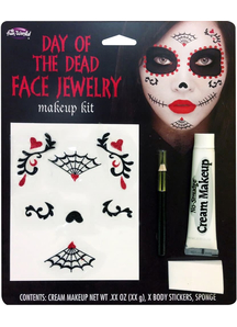 Face Jewelry For Day Of The Dead
