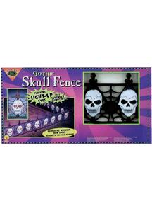 Fence Gothic Skull