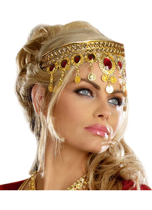 Gold Dripping Headpiece
