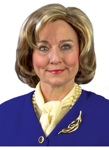 Hillary Candidate Wig