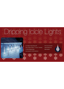 Holiday Lights 100 L C3 Icicle